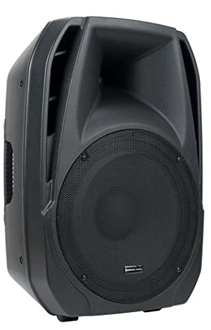 American DJ Supply ELS15A Powered 15-Inch 2 Way Speakers (15 Inch Party Speakers)