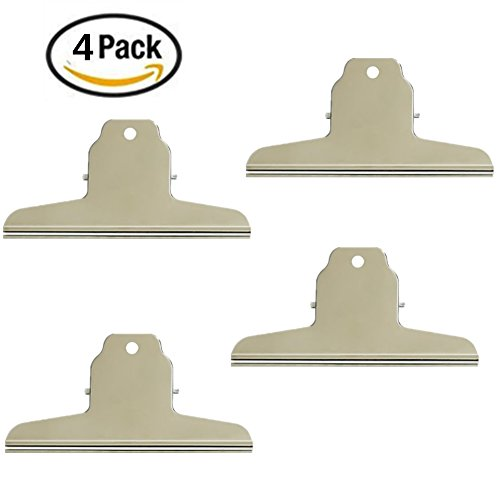 Yamde Stainless Steel Bag Clips,Great for Air Tight Seal Grip on Coffee & Food Bags, Kitchen Home Usage,Pack of - Closest My Location The Buy To Best