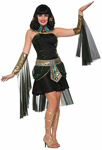 [Forum Women's Fantasy Cleopatra Costume, Multi, One Size] (Bag Lady Halloween Costume)
