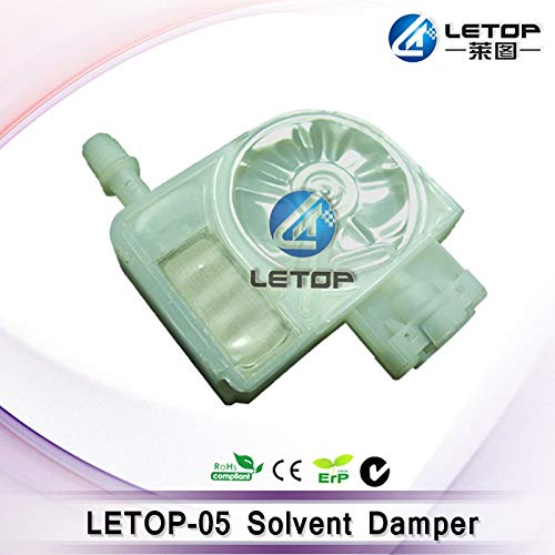 - Printer Parts DX5 Ink Damper 4880 4880 4000 4450 4400 7400 7450 9400 9450 7800 9800 7880 9880 for Solvent Inkjet Printer Allwin/Human - (Color: White one)