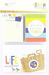Simple Stories Snap Life Documented Everyday Cards (152 Pack)