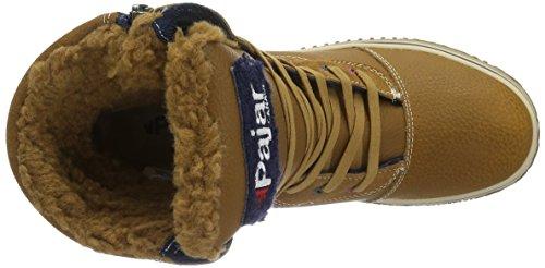 Pajar Trooper 22114.22 - Botas de nieve de cuero para hombre Multicolor - Mehrfarbig (COG/NAVY 416)