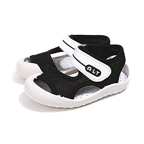 Boys Girls Summer Sport Sandals Open-Toe Rubber Sole Pool Beach Mesh Sneakers Outdoor Water Shoes Toddler//Little Kid