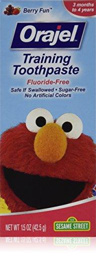 Orajel Toddler Training Toothpaste Berry Fun 1.50 oz (Pack of 3) by Orajel (Image #1)