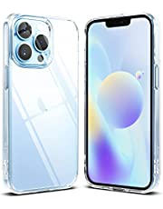 Ringke Fusion Compatibel met iPhone 13 Pro Case, Transparant Schokbestendig Bumper Hoesje - Clear