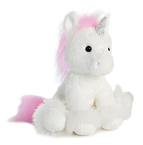 Free Aurora World Dreaming of You Unicorn Plush, White, Small
