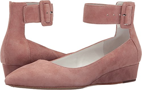 Alice + Olivia Women's Kiki Dusty Rose Prime Suede Shoe