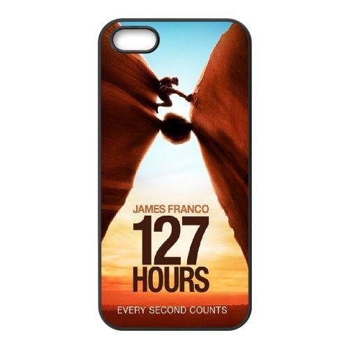127 Hours coque iPhone 5 5S cellulaire cas coque de téléphone cas téléphone cellulaire noir couvercle EOKXLLNCD20988