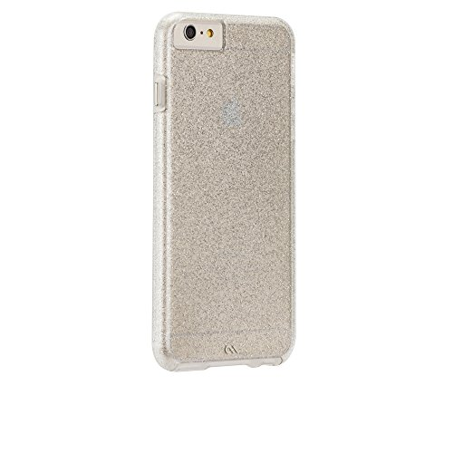 Case-Mate iPhone 6 Plus Case-Mate Sheer Glam Case - Retail Packaging - Champagne