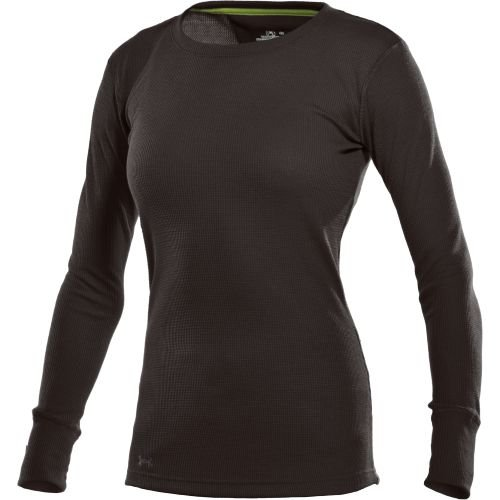 Under Armour Women's Waffle Longsleeve Crew Neck Tops