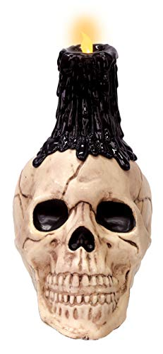 Crazy Bonez Skull LED Candle Décor]()