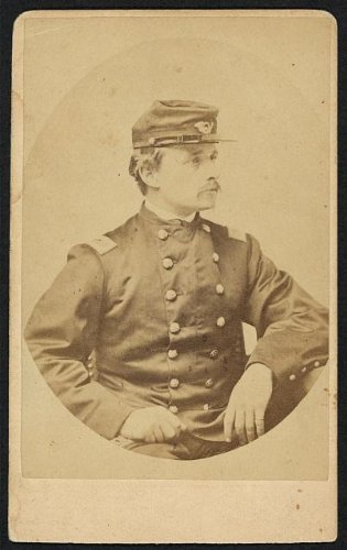Photo: Colonel Robert Shaw, 54th Massachusetts Colored Volunteers Infantry, uniform, 1863 . Size: 8x