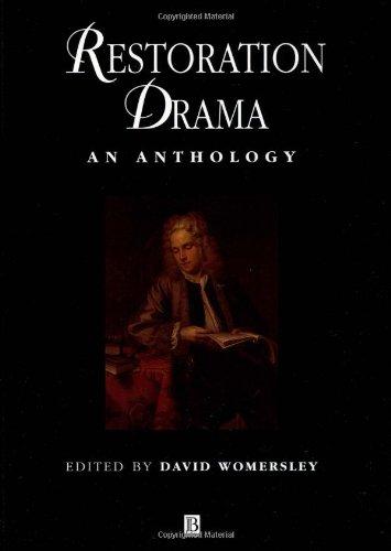 Restoration Drama: An Anthology