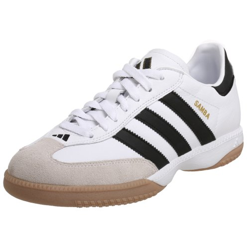 detailed look 7835c 9cbde Galleon - Adidas Performance Mens Samba Millennium Indoor Soccer Cleat, WhiteBlackGold,6.5 M US