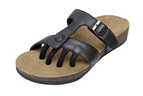 Wellrox Donna Santa Fee-sedona Sandalo Casual Nero
