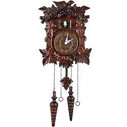 Kendal Handcrafted Wood Cuckoo Clock MX313