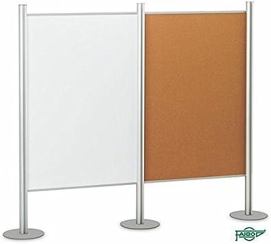 Faibo Soportes modulares para mamparas y pizarras (100 x 150 cm ...