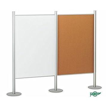 Faibo Soportes modulares para mamparas y pizarras (100 x 150 ...
