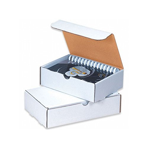 Box Packaging White Literature Mailer, 15-1/8'' x 11-1/8'' x 4'' - Bundle of 50 by Box Packaging