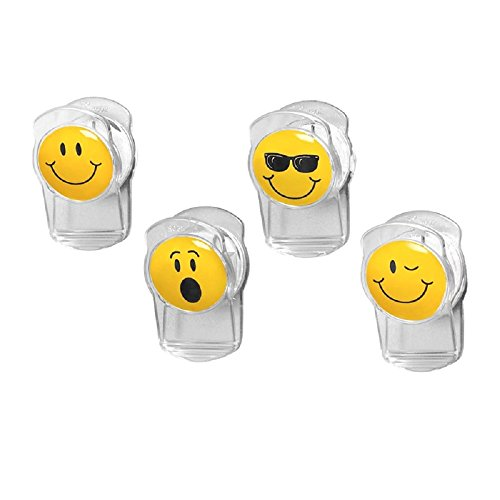 Spectrum 010591007272 Smiley Magnetic Assorted