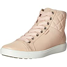 ECCO Women's Women's Soft 7 Quilted High Top Fashion Sneaker
