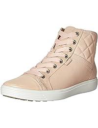 ECCO Women's Women's Soft 7 Quilted High Top Fashion Sneaker