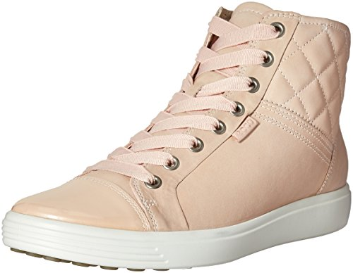 ECCO Soft Quilted High Top