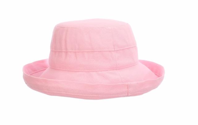 Scala Women's Medium Brim Cotton Hat