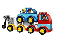 LEGO DUPLO My First Cars and Trucks 10816, Preschool, Pre-Kindergarten Large Building Block Toys for Toddlers