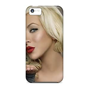 New SpO1154VxnX Christina Aguilerasinger Skin Case Cover Shatterproof Case For Iphone 5c