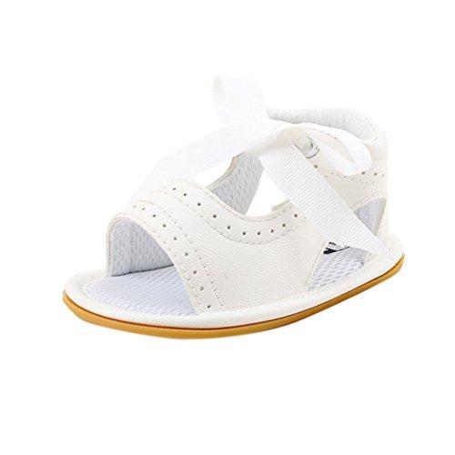 Schuhe Weiß Wanderer Schuhe Hunpta Kleinkind Sandalen unten weich Säugling Babys Neugeborene 1qwwEFH
