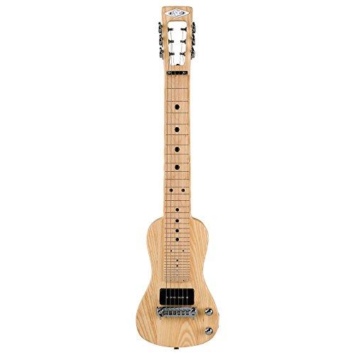 SX Lap 2 Ash NA Electric Lap Steel Guitar w/Stand & Bag