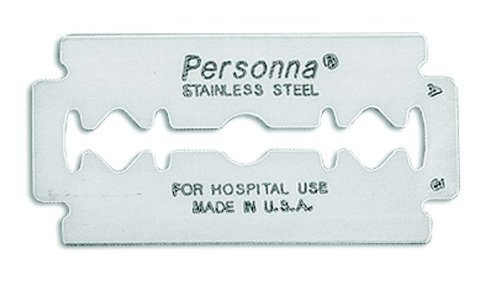 (Personna Double Edge Prep Razor - Model 74-0002 - 25 Blades)