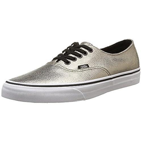 107d6c5877 best Vans Authentic Decon Womens Sneakers Gold - appleshack.com.au