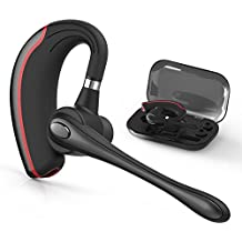 Bluetooth Headset, HandsFree Wireless Earpiece V4.1 with Mic for Business/Office/Driving