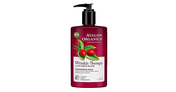 Amazon.com: Avalon Organics terapia de arrugas, 8 onzas ...