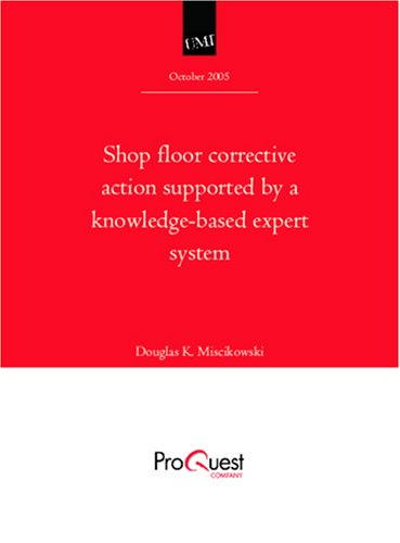 Shop floor corrective action supported by a knowledge-based expert system