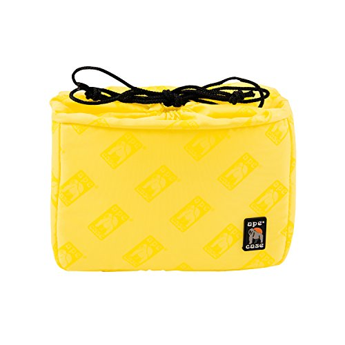 Ape Case Cubeze 37, Camera Insert, Black/Yellow, Interior Case for Cameras (ACQB37)