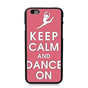 For iPhone 5C Case, Fashion Dance On Pattern Protective Hard Phone Cover Skin Case For iPhone 5C +Screen Protector