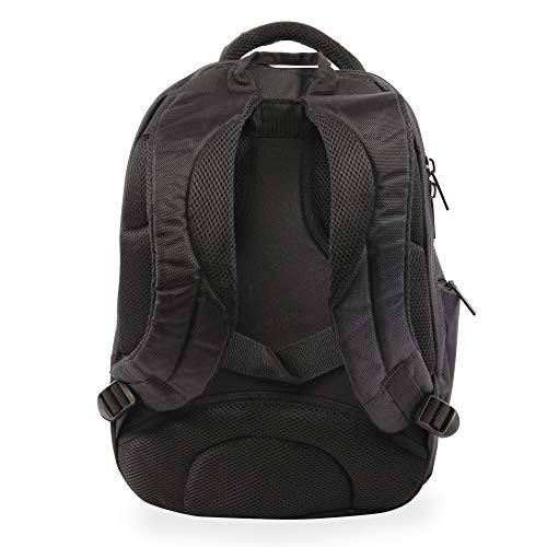 41Q72tRjpkL - Perry Ellis M160 Business Laptop Backpack, Black