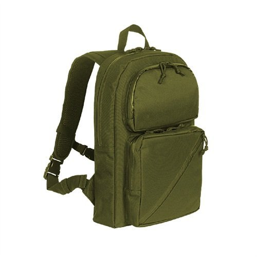 Voodoo Tactical Slim Line Back Pack, Olive Drab