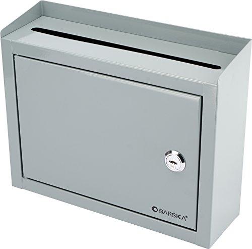 BARSKA Multi-Purpose Drop Box, Grey by BARSKA (Image #1)
