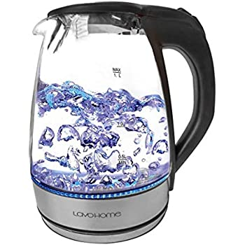 Amazon Com 1 7l Cordless Glass And Stainless Steel