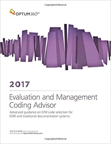 Evaluation and management coding advisor 2017 9781622542703 evaluation and management coding advisor 2017 2017th edition fandeluxe Images