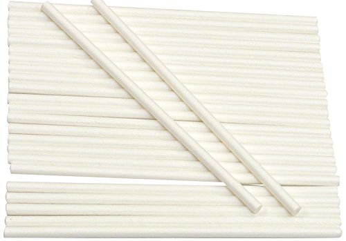 Cybrtrayd Paper Lollipop Sticks, 4-Inch by 5/32-Inch, Case of 12000 by CybrTrayd