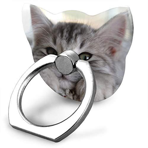 Metal Pedestal Rose Wild (Wildcat Finger Ring Stand Phone Kickstand Grip)