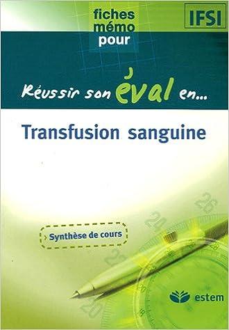 Lire un Transfusion sanguine pdf, epub ebook