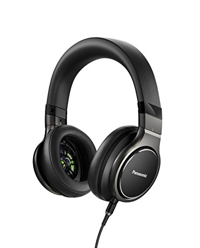 Panasonic Sealed dynamic stereo headphones high-resolution black corresponding - Panasonic Headphone 200