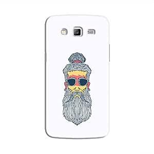 Cover It Up - Hipster Yogi Galaxy J7 Hard Case