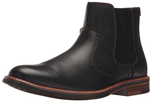 Dockers Men's Badger Chelsea Boot, Black, 12 M US